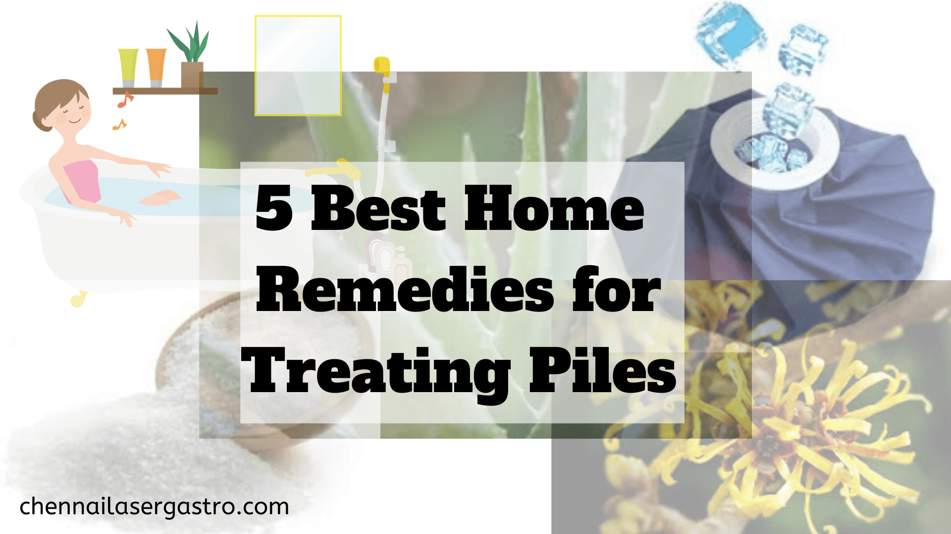 5 best home remedies for piles