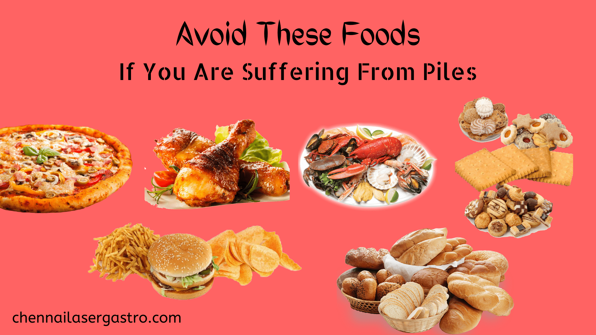 foods to avoid during piles